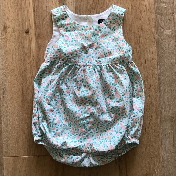 8b2697d29a5 GAP Other - Baby Gap Floral Bubble Romper